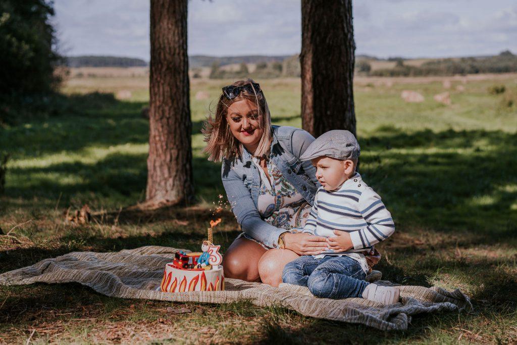zdjęcia z okazji 3 urodzin w okolicach Białegostoku