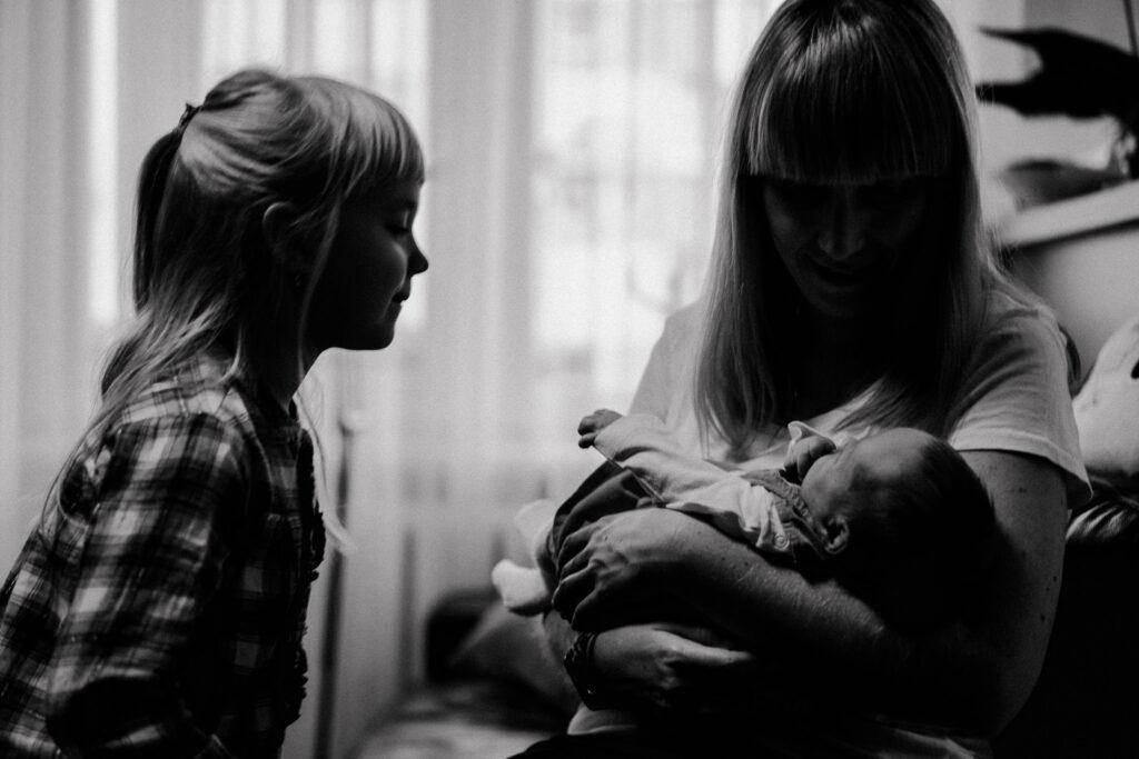 sesja noworodkowa z rodzeństwem