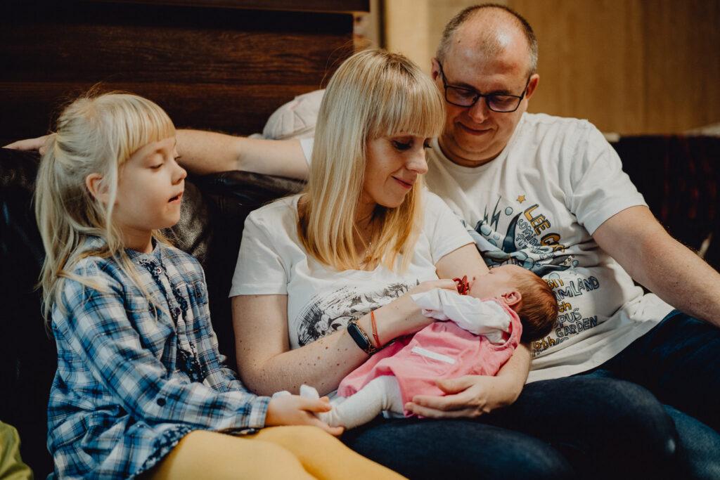 sesja noworodkowa z rodzicami