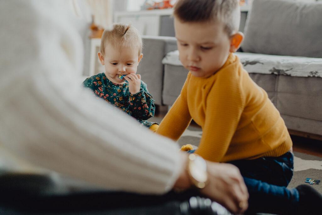 lifstylowa sesja z dziećmi