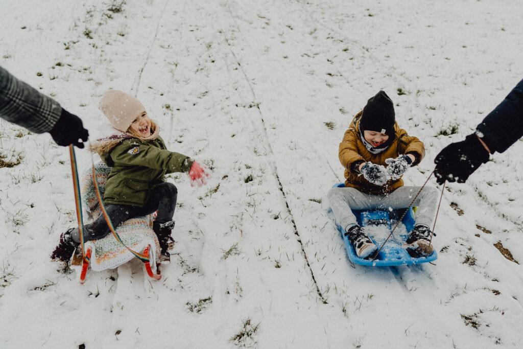 zimowa sesja lifestyle Białystok